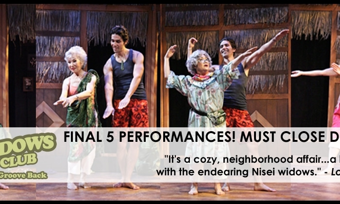 """The Nisei Widows Club: How Tomi Got Her Groove Back"" Must Close December 8!"