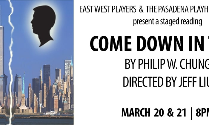 East West Players and The Pasadena Playhouse HOTHOUSE present COME DOWN IN TIME