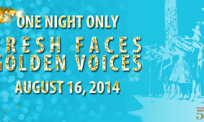 ONE NIGHT ONLY: Fresh Faces, Golden Voices Soiree and Fundraiser on August 16th with a special dinner featuring Celebrity Chef Katie Chin