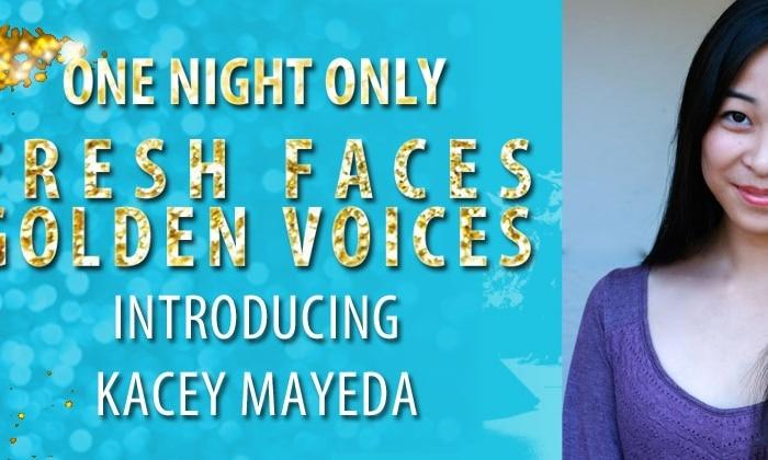 """One Night Only"" Artist: Ingenue Kacey Mayeda"
