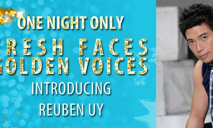 """""""One Night Only"""" Artist: Crooner Reuben Uy"""