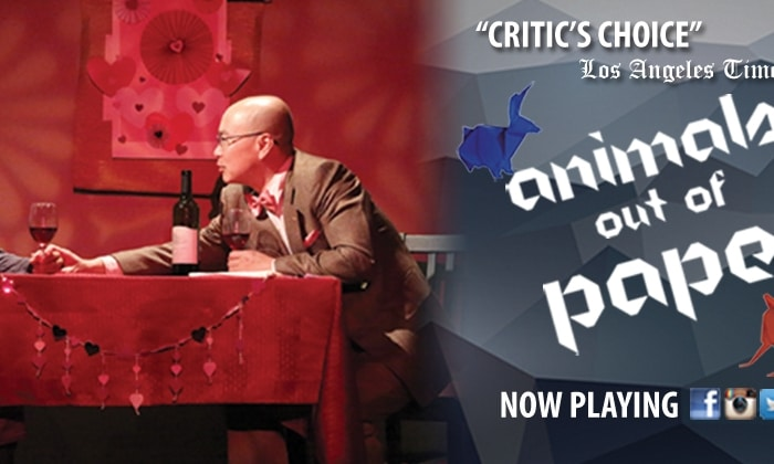 """Final Performances of Critically Acclaimed """"Animals Out of Paper""""- Must Close!"""